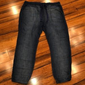 Anthropology Cloth and stone jogger jeans